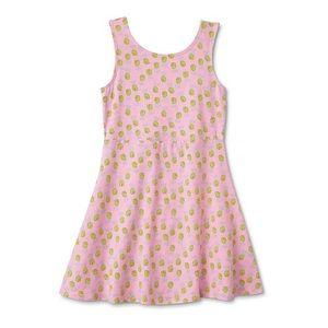 🌹🤩3/$25 NWOT! Pineapple girls skater dress